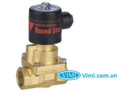 Van điện từ nước round start thường mở 220V 5