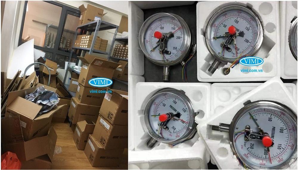 Kho hàng đồng hồ đo áp lực