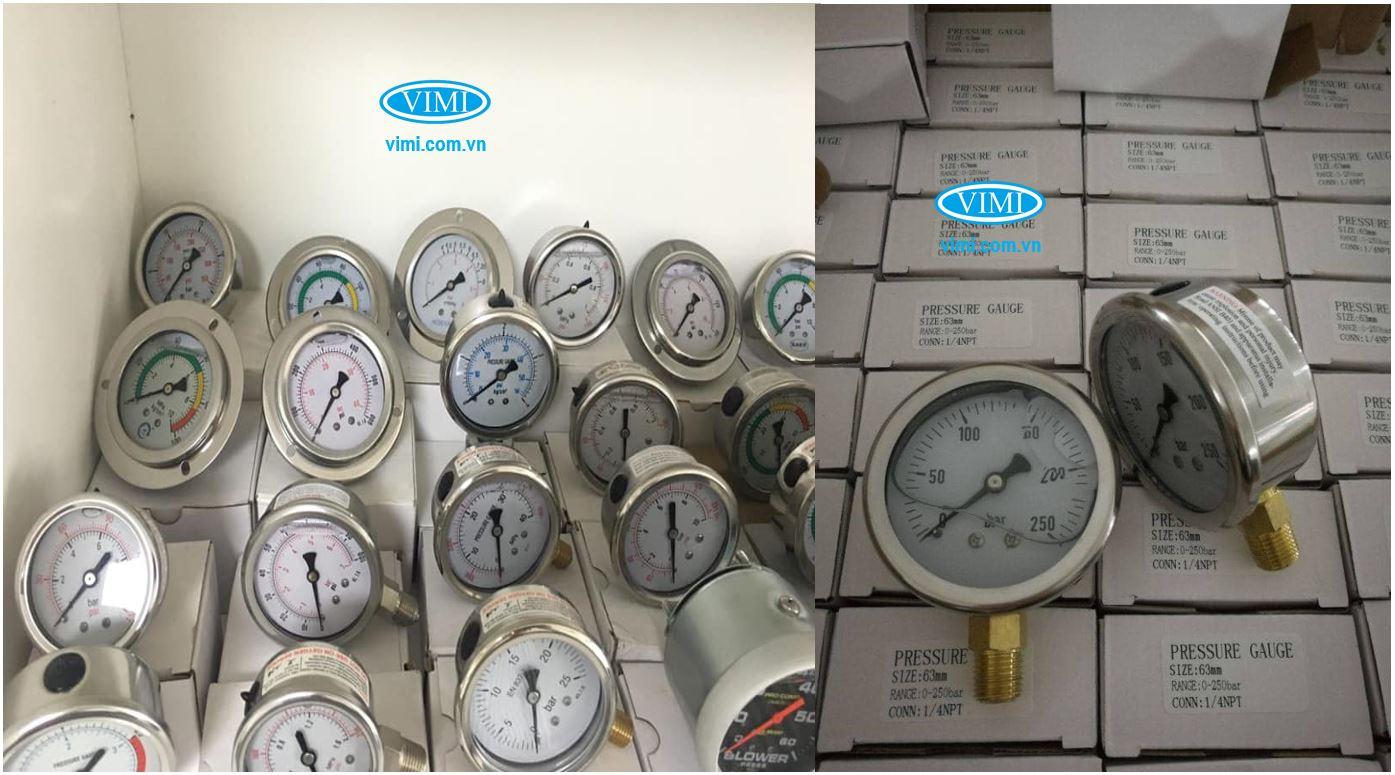 Kho hàng đồng hồ áp suất