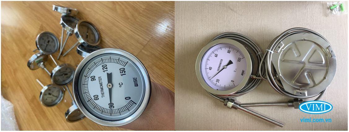 Đồng hồ nhiệt độ đa dạng đường kính mặt