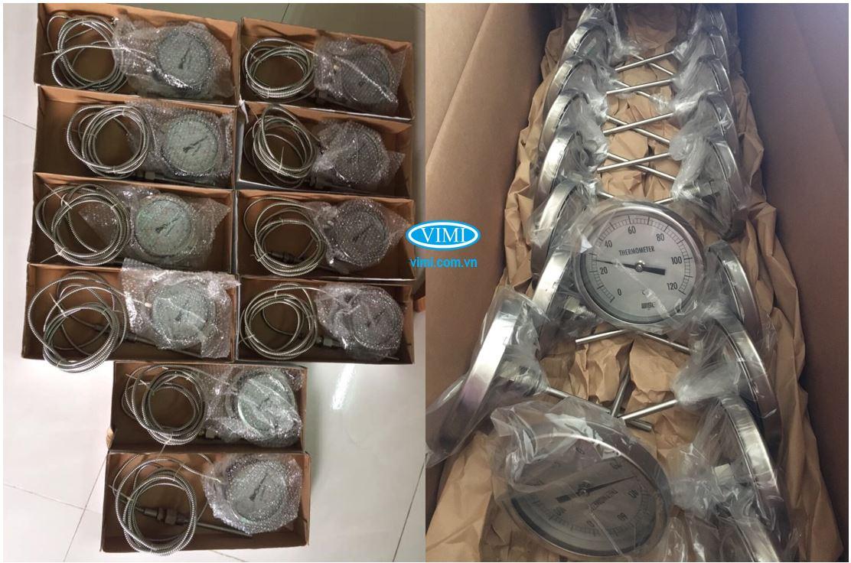 Đồng hồ nhiệt độ của Vimi đa dạng về dải đo