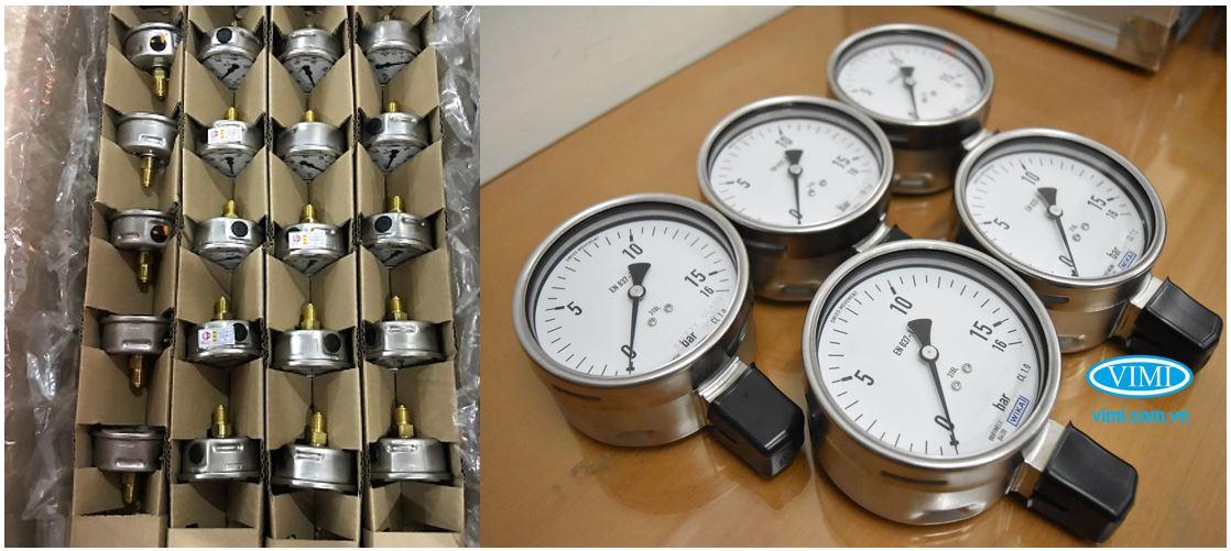 Kho hàng đồng hồ áp Wika