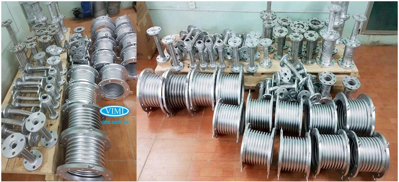 Vimi cung cấp nhiều kích cỡ đường ống