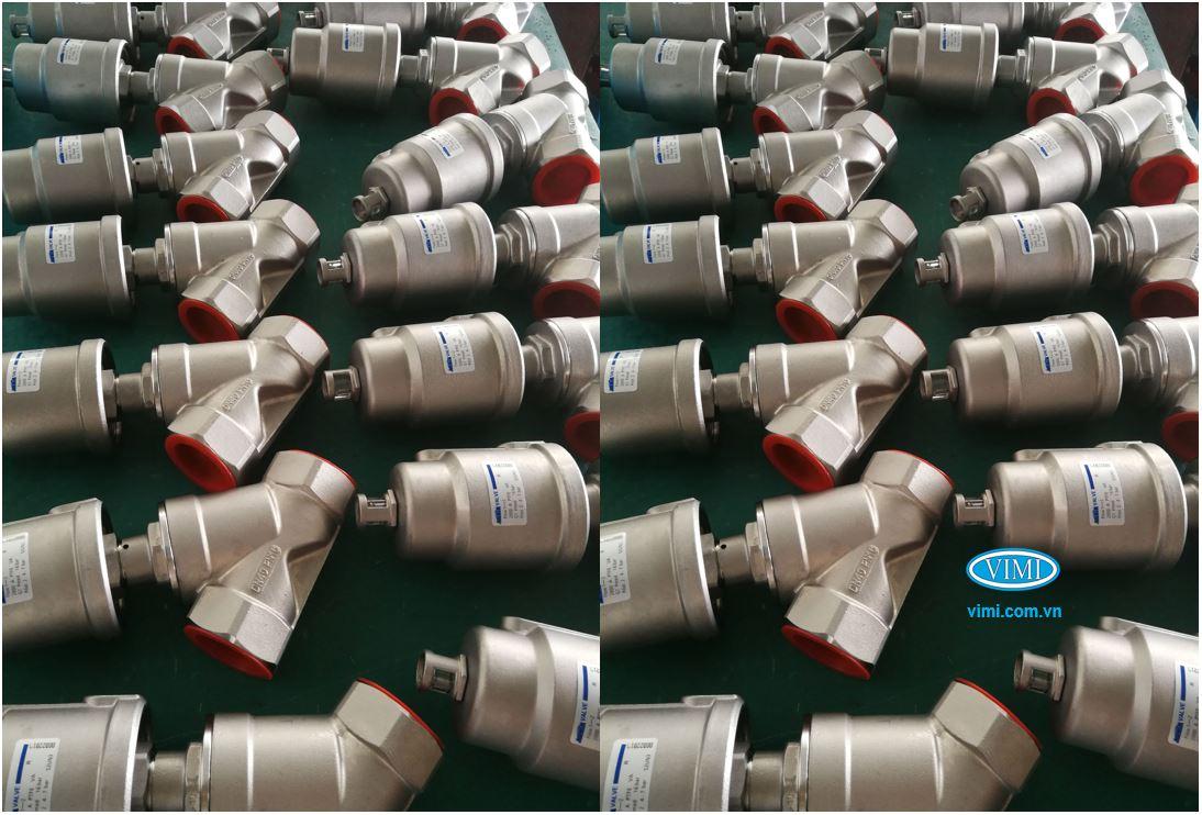 Vimi là đợn vị nhập khẩu van y xiên điều khiển khí