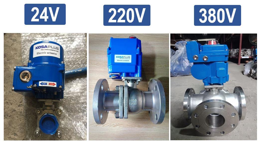Chọn điện áp sử dụng cho động cơ điện