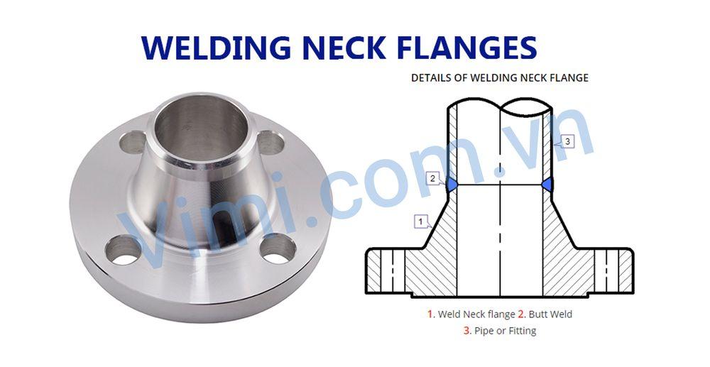 Mặt bích hàn cổ - Welding Neck Flange (WN)