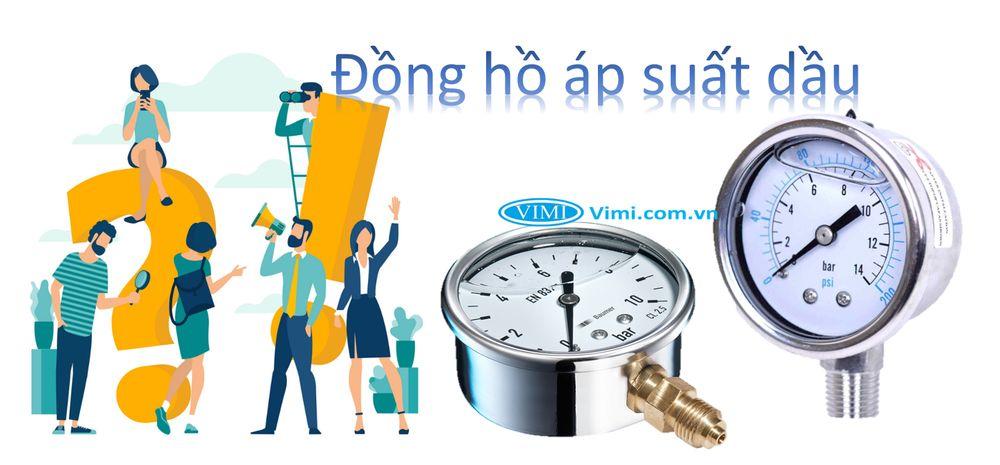 đồng hồ áp suất dầu là gì