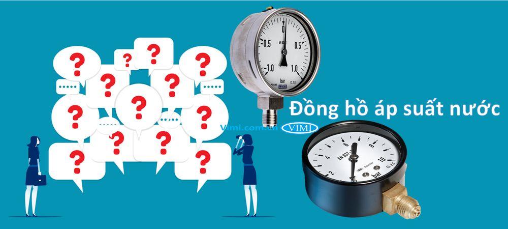 Đồng hồ áp suất nước là gì