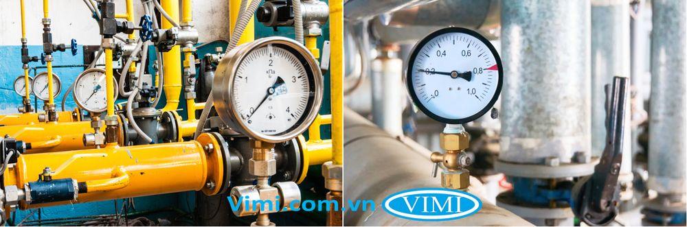 ứng dụng của đồng hồ áp suất nước 2
