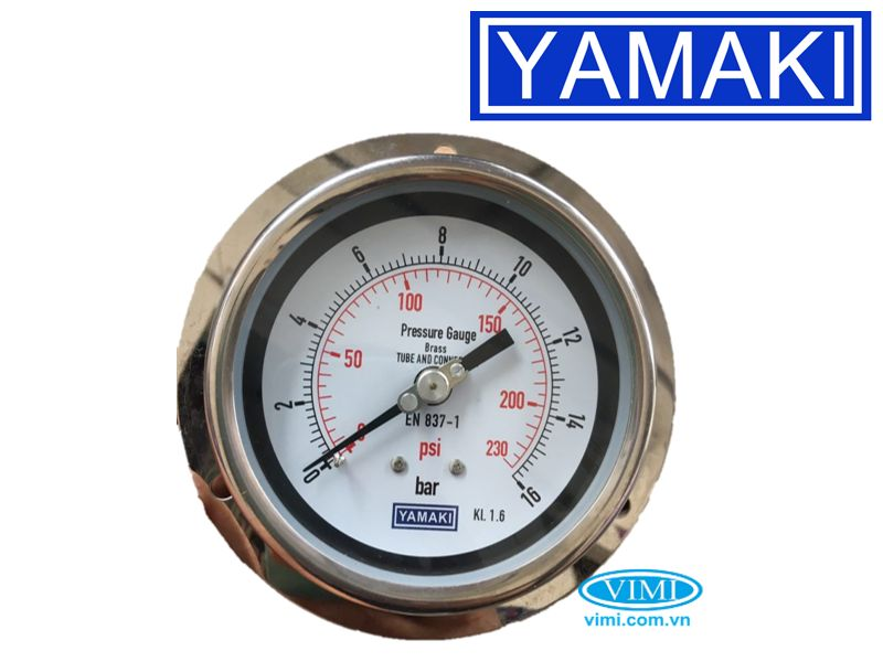 Đồng hồ áp suất vành Yamaki 5