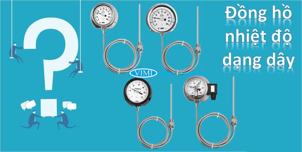 Đồng hồ nhiệt độ dạng dây là gì