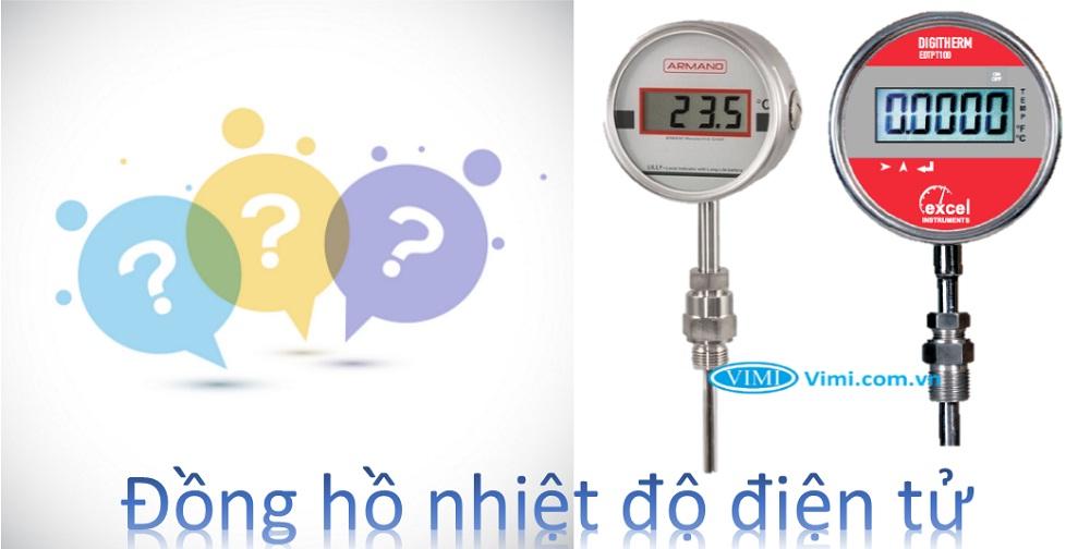 Đồng hồ nhiệt độ điện tử là gì