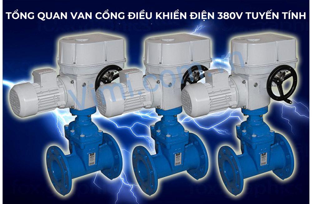Tổng quan về van cổng điều khiển điện 380V tuyến tính