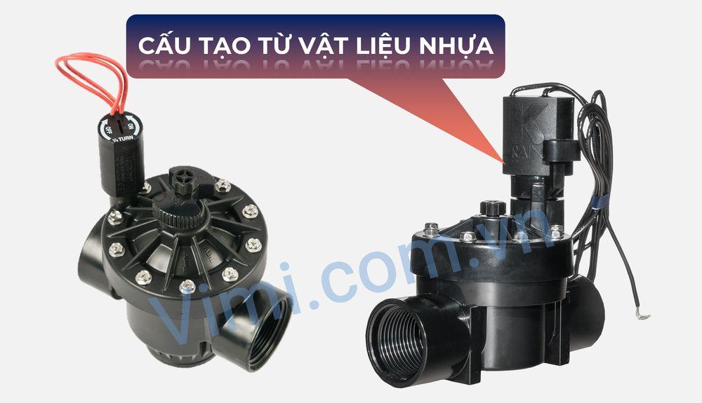 Vật liệu chế tạo van điện từ 220V