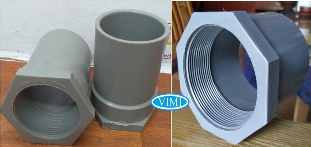 Nối ren trong nhựa uPVC sẵn kho