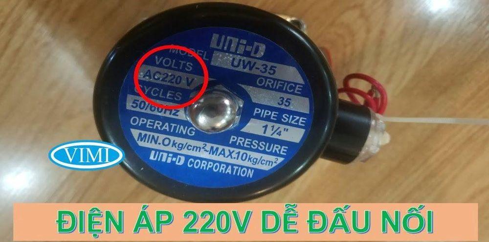 van điện từ unid 002